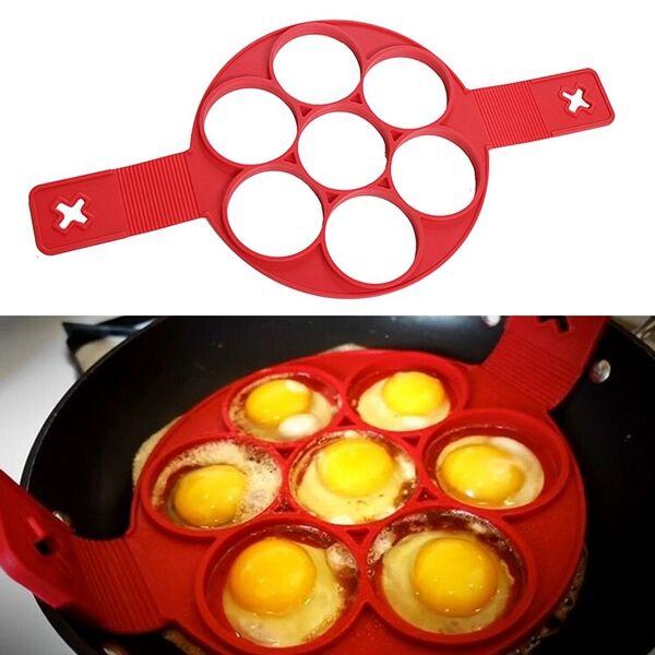 Szilikon tojás és mini palacsinta sütőforma