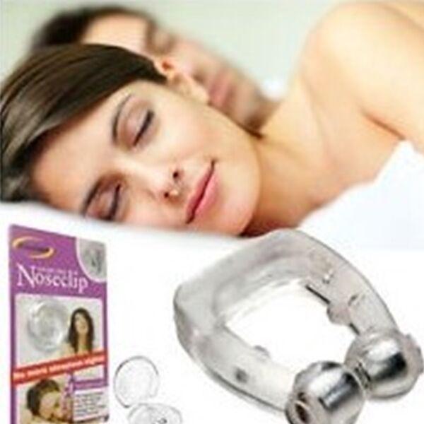 Horkolást gátló orr klipsz
