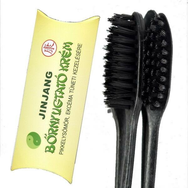 Jinjang bőrnyugtató krém/bambusz faszén fogkefe csomag