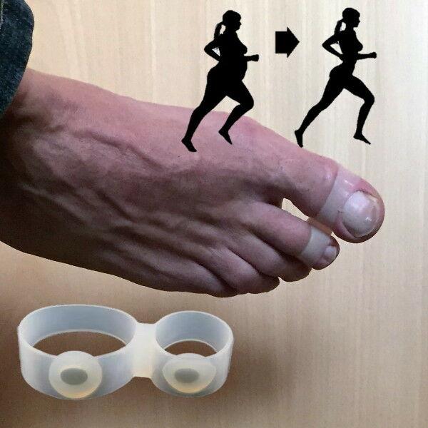 Fogyókúrás lábujjgyűrű dupla