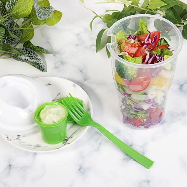 Saláta Shaker villával