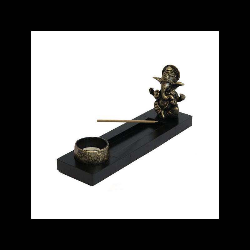 Füstölő tartó Ganeshával