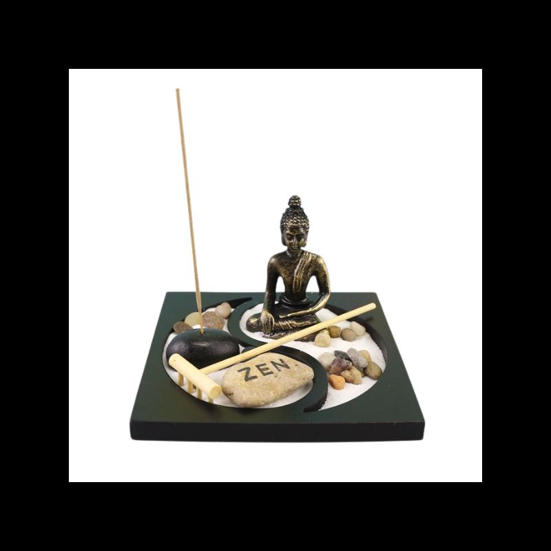 Zen kert jinjangos Buddhával