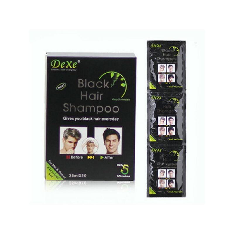 Természetes fekete hajszínező